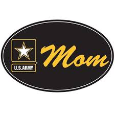 Us Army Mom Star Oval Magnet