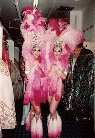 Las Vegas, Dunes Casino de Paris Julia & Lynette Perry 1980   Female  dancers, Las vegas, Vegas