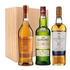 send premium scotch trio gift set