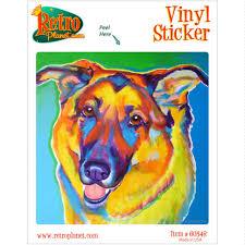 Thomas Collie Dog Vinyl Sticker Laptop Bumper Pop Art Decal For Sale Online