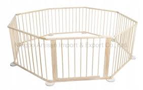 China Baby Kids Safety Fence Wooden Playpen China Playen And Wooden Playen Price
