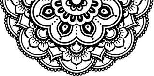 Flower Decal Mandala Decal Car Decal Laptop Sticker Half Etsy Mandala Decals Mandala Car Decals