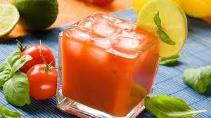 tomato juice benefits from improving