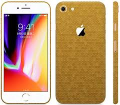 Amazon Com Bloom Skins For Apple Iphone 7 Luxury Gold Honeycomb Protective 3m Vinyl Skin Decal Wrap Film Premium Ultra Slim Cover Back Sticker With 3d Texture Made In Usa