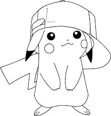 Pikachu Charmander Pokemon Coloring Pages