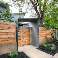 Modern Fence Ideas Houzz