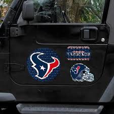 Houston Texans 11 X 11 Prismatic Car Magnet