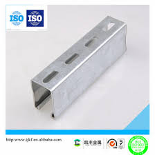 Factory Supply Solar Support Galvanized Strut Slotted C Bracket Buy C Channel Bracket Fence Post Mounting Brackets Galvanized Post Support Bracket Product On Alibaba Com