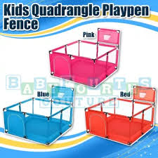 Kids Quadrangle Playpen Fence Portable Safety Crawling Activity Area Lazada Ph