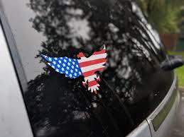 Eagle Window Decal Sticker