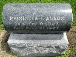 Priscilla Adams (1807-1893) - Find A Grave Memorial