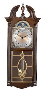 bulova chiming pendulum wall clock