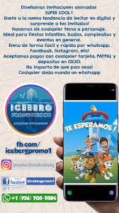 Invitaciones Para Tu Fiesta En Video Totalmente Personalizables