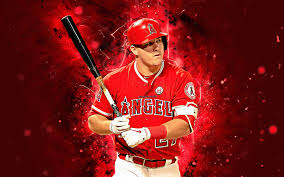 mike trout wallpapers top free mike