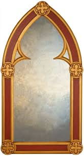 gothic arched mirrors large wall