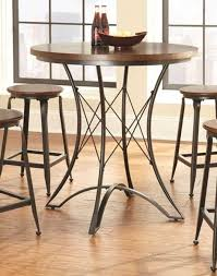 Steve Silver Adele Wood Round Counter Height Table | The Classy Home