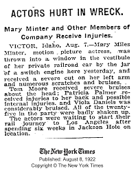 1922 Aug MMM NY Times - Looking for Mabel Normand