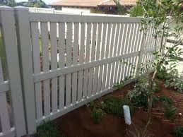 Fencing Vertically Slatted Value Fencing Pvc Fence Gates Contractor