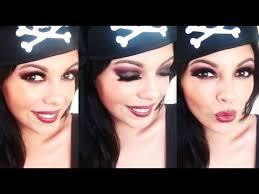 y pirate makeup tutorial