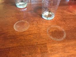 removing heat marks from furniture