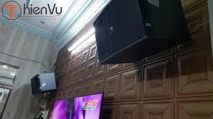 Dàn karaoke tại Quận Bình Tân đi kèm với đôi loa karaoke đình đám JBL Ki