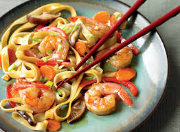 Low-Calorie Shrimp Lo Mein Recipe