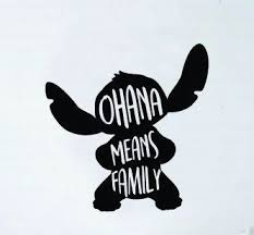Ohana Means Family Stitch Vinyl Decal Sticker Car Decal Yeti Sticker Laptop Sticker Water Bottle Decal Gift Id Disney Decals Yeti Stickers Disney Sticker