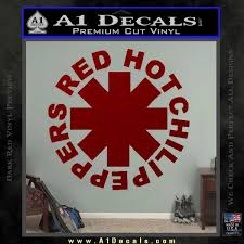 Rhcp Red Hot Chilli Peppers Decal Sticker A1 Decals