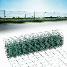 Garden Netting Home Garden Store 0 9m X 20m Green Pvc Coated Steel Mesh Fencing Wire Garden Galvanised Fence Border