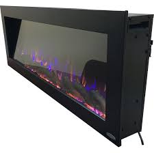 outdoor wall mounted electric fireplace