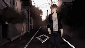 alone anime guy wallpapers top free
