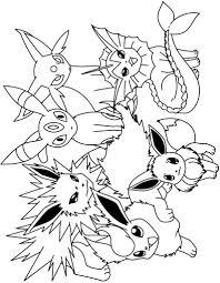 Pokemon Coloring Pages Kleurplaten Kleuren En Tekenen