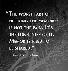 illuminating quotes by author lois lowry paste