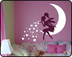 Fairy Wall Decal Fairy Blowing Hearts Fairy Blowing Kisses Etsy Baby Girl Room Decor Girls Room Decor Nursery Decor Girl