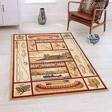 area rug modern geometric design