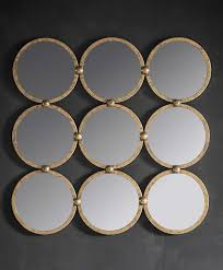 bradbury mirror antique gold leaf