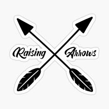 Raising Arrows Stickers Redbubble