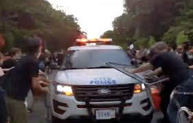 Nypd Out Of Control Videos Depict Cops Ramming Squad Cars Into Protesters Streetsblog New York City