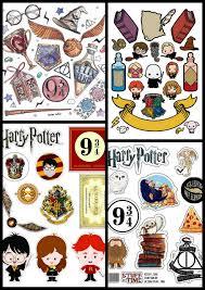 Harry Potter En Caricatura Toppers Para Tartas Tortas Pasteles
