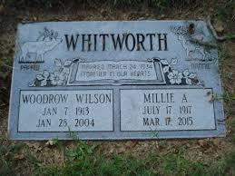 Millie Adeline Dixon Whitworth (1917-2015) - Find A Grave Memorial