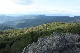 Hiking Shenandoah Bearfence Mountain