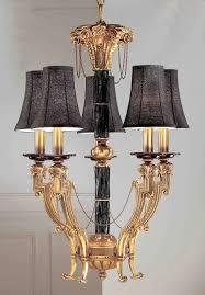 cast brass chandelier