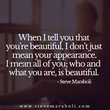 when i tell you that you re beautiful