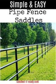 Saddled N Ready Pipe Fence Fittings