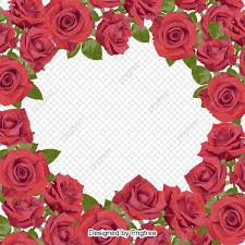 Roses Frame Bud Wedding Png Transparent Image And Clipart For