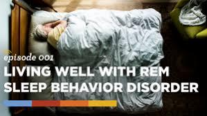 what is rem sleep behavior disorder
