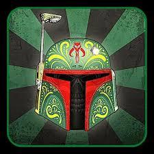 4 Boba Fett Sugar Skull Vinyl Sticker Star Wars Decal