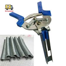 1pc Hog Ring Plier Tool And 600pcs M Clips Chicken Mesh Cage Wire Fencing Crimping Solder Shopee Philippines
