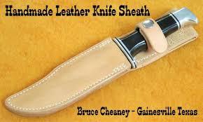 knife sheath making how to make leather