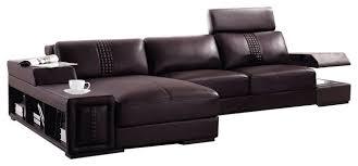 soflex chandler modern brown leather
